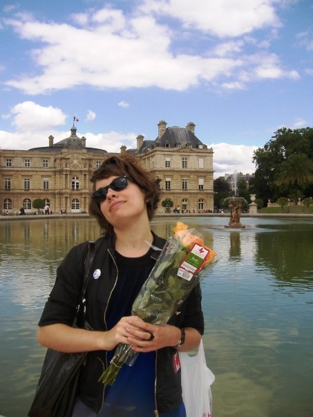 Jardin de Luxembourg, 2009. These are not my flowers.