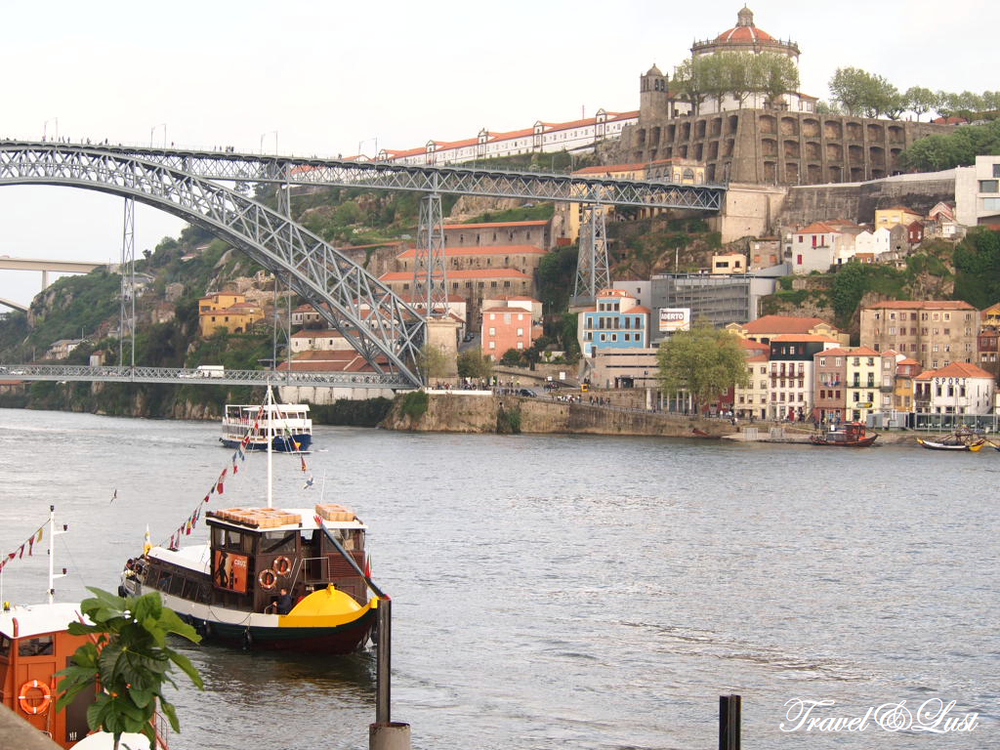 You can never get bored of this view of Oporto along the Douro river.