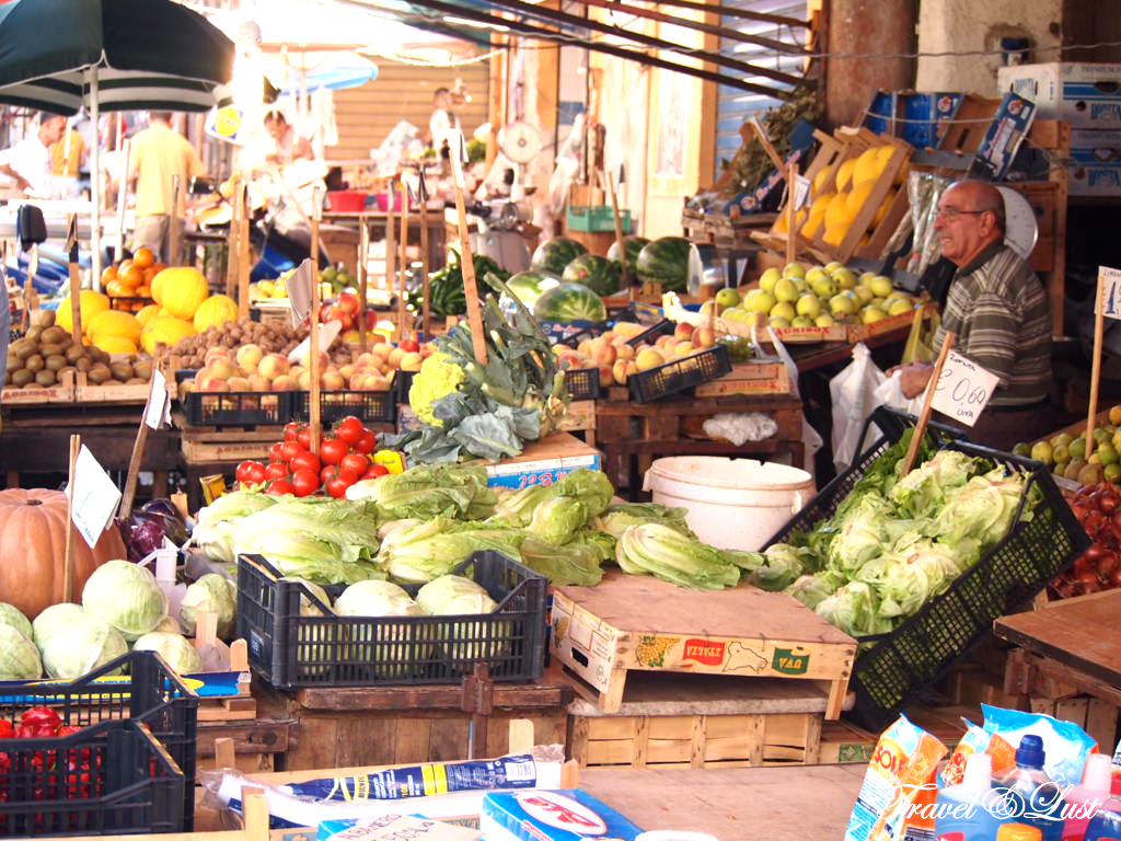 Image result for Ballarò Street Market, One of the best markets in Italy