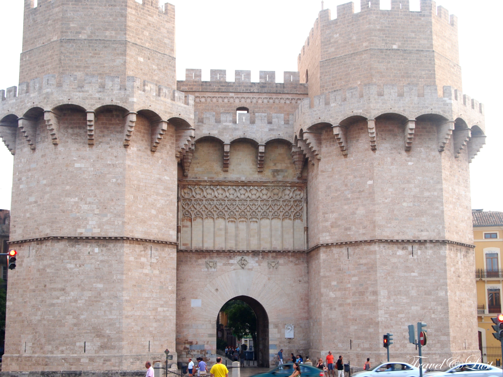 TheSerranos Towersare considered to be the largest Gothic city gateway in all of Europe, itis one of the twelve gates that were found along the old medieval city wall.