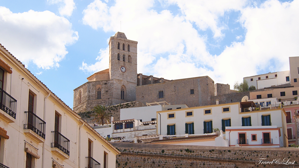 The Baluard St. Llucia is a great mirador at the top of Ibiza old town.