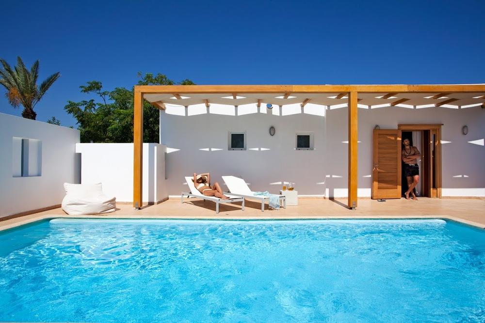 Minos Beach Art Hotel in Greece