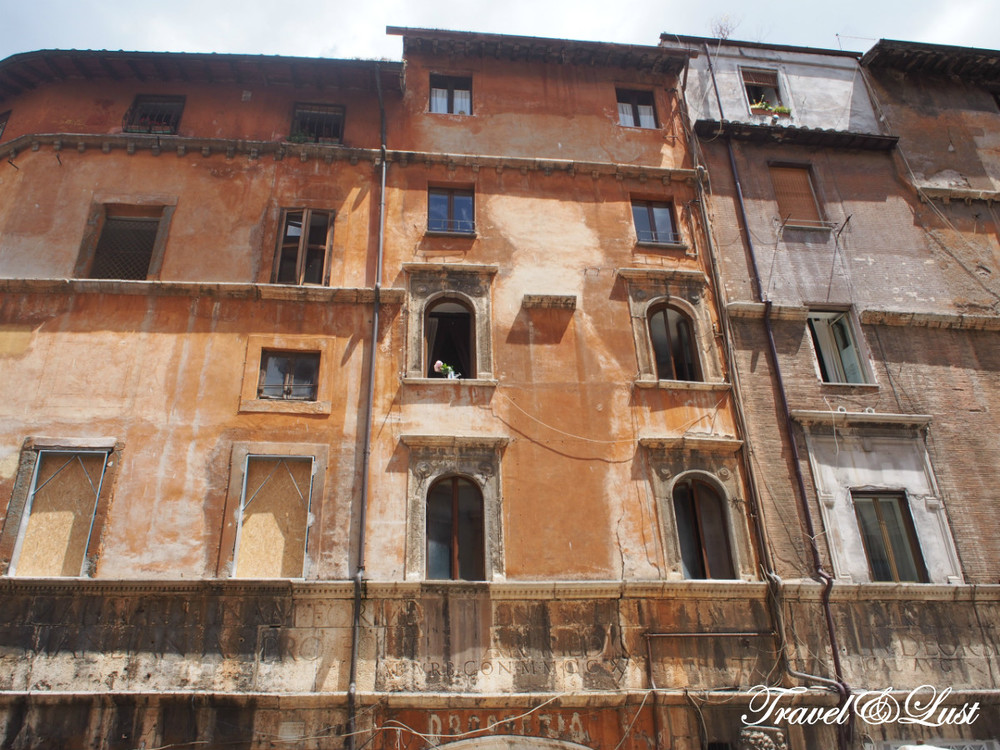 Trastevere and Rome's Jewish Ghetto is a must to visit!