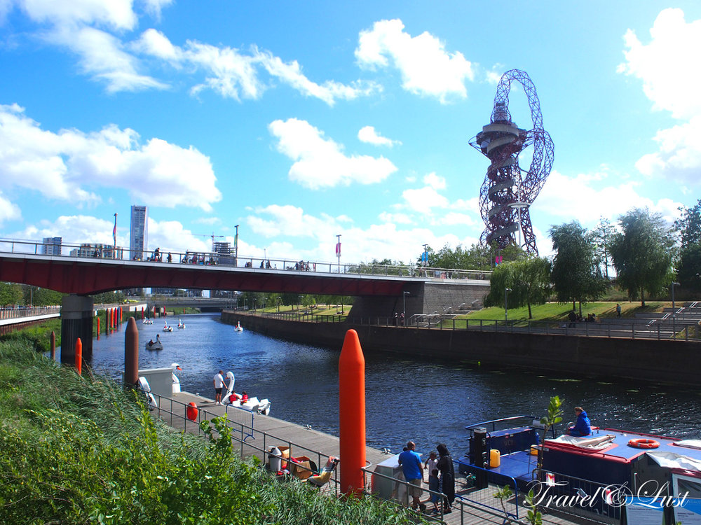 Queen Elizabeth Olympic Park.Whether you're into sports, arts and culture, fresh air, adventure playgrounds, shopping or just relaxing with a cup of coffee and a cake, the Park has something for you!