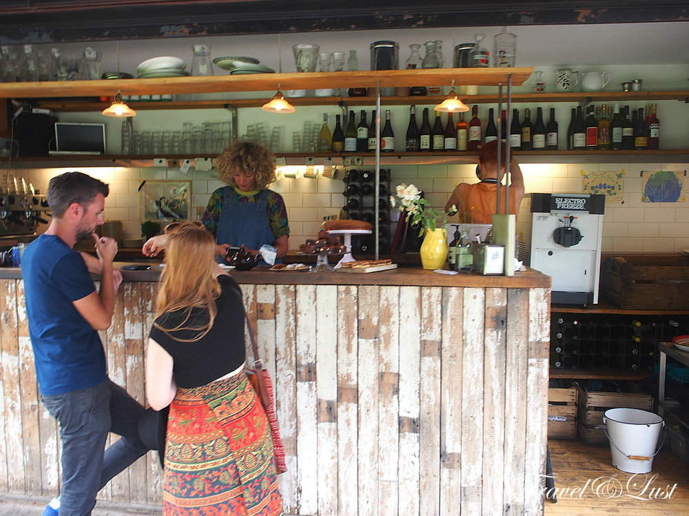Opened by food photographer Jason Lowe and his food-writer wife Lori de Mori, the Towpath Café serves up a small but delicious selection of Italian specialities. They have no phone number or website, so just follow the Regent's Canal.