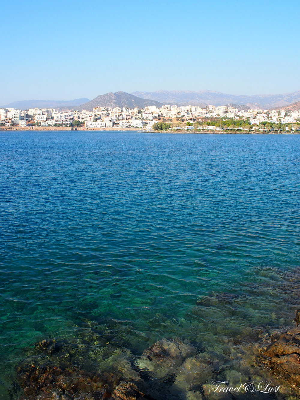 Walk around the area of Sensimar Minos Palace to find secluded spots all to yourself!