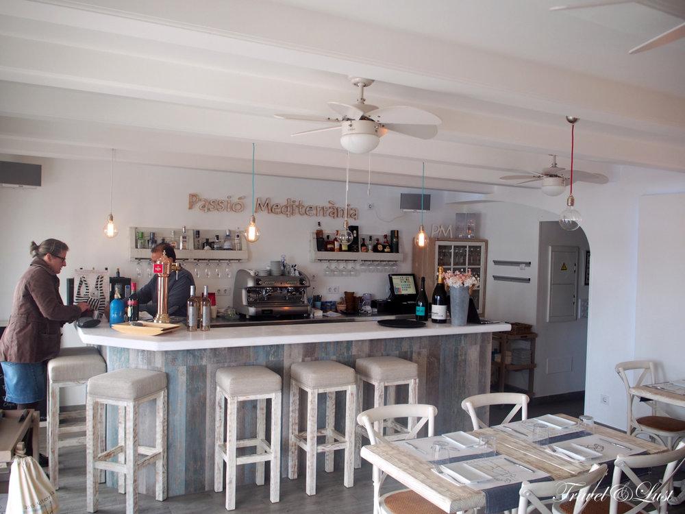Our favourite restaurant in Mahón,Passió Mediterrània.