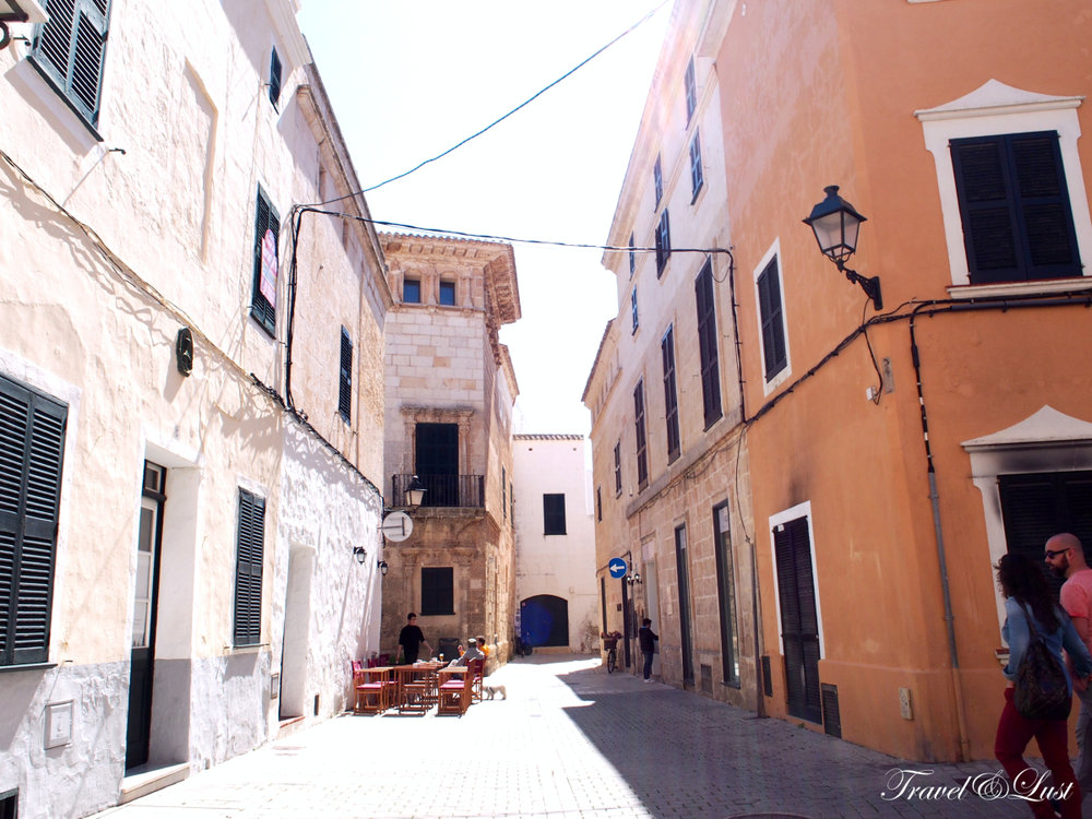 The old town centre of Ciutadella takes you back hundreds of years.