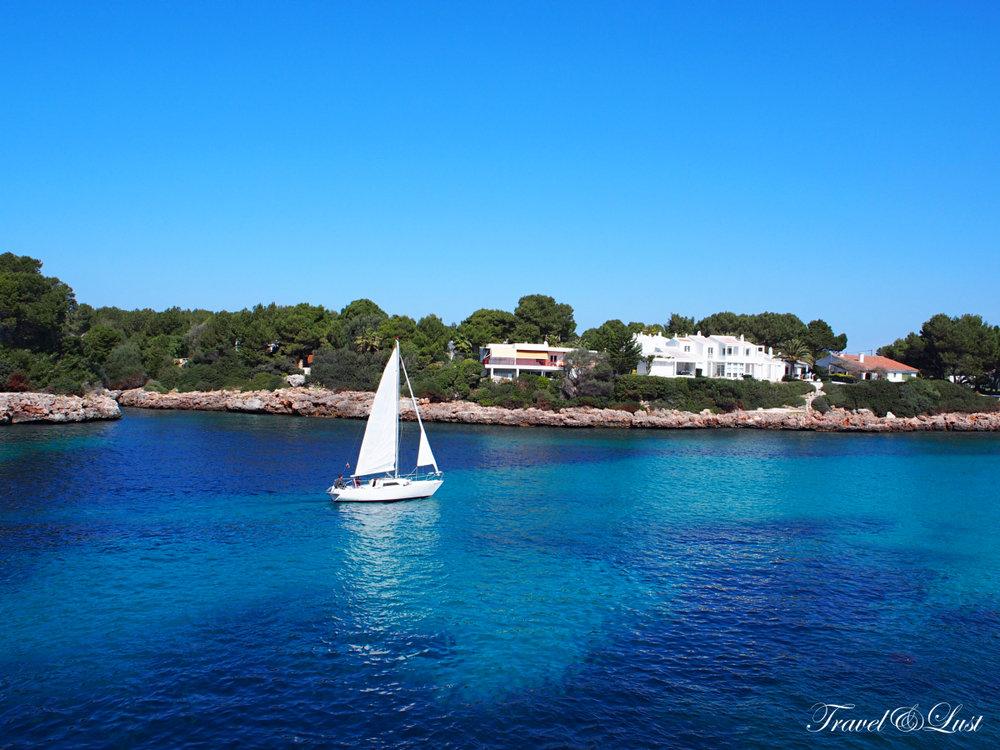 Our favourite beach coves around Ciutadella are Cala Macarelleta, Cala Santandria, Cala del Pilar and Cala Brut.