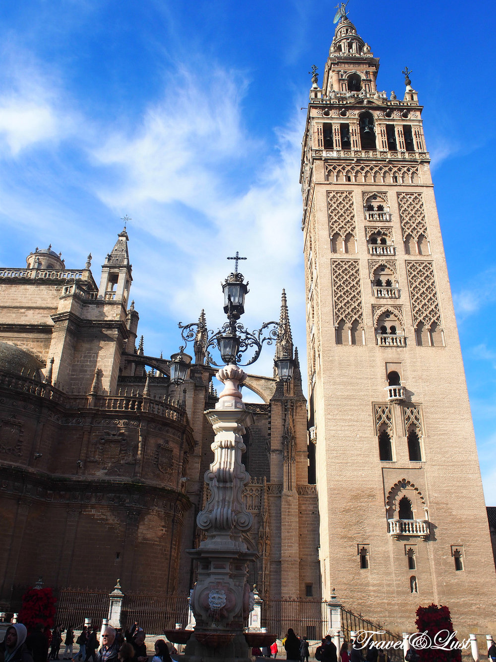 Skip the long lines at the Seville Cathedral when buying the ticket first at the Church of El Salvador (Seville's second largest church). This will allow you for a combined ticket to both churches.