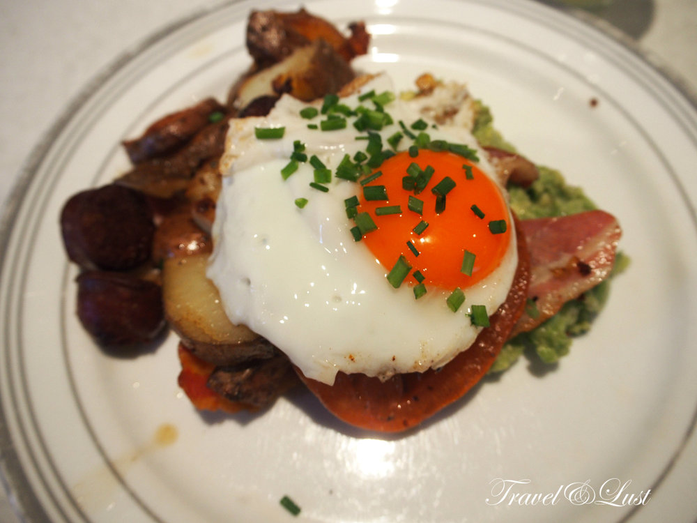 The Barber's Breakfast at Barber & Parlour is wicked! Check them out.