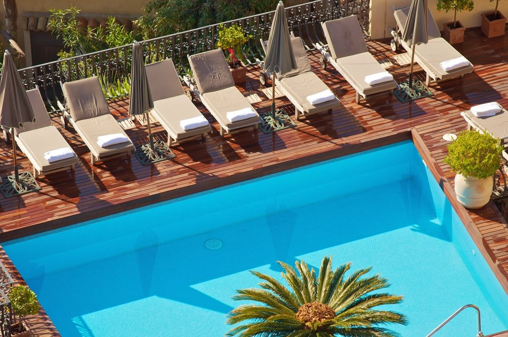 Sun bathe in the warmer months in their bijou pool. Relax in the gem of the Ionian Sea.