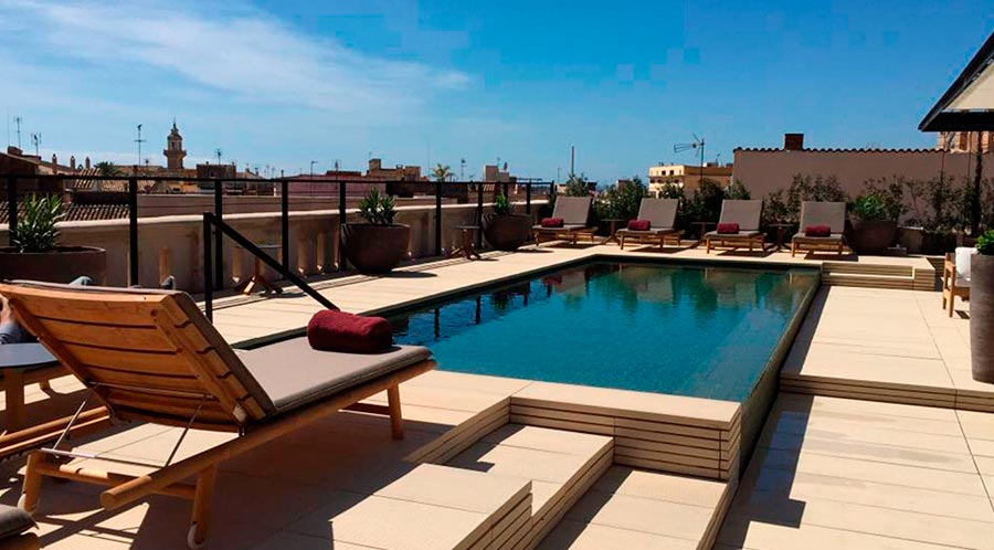 Soak in the sun rays at the pool & panoramic rooftop terrace.