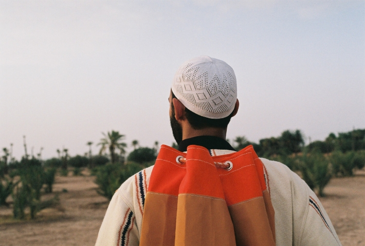 Rucksacks inspired from North African tribes