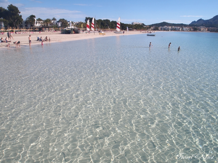 Alcudia has almost 10 kilometres of golden sands stretching from the Port of Alcudia through to Playa de Muro.