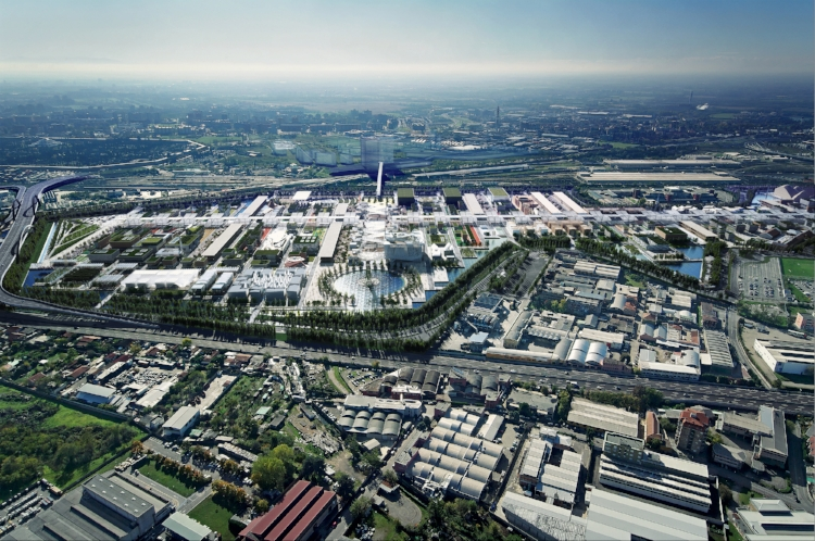 Expo Milano 2015 Exhibition Siteis a few kilometres from the centreof Milan, with direct public transport links from the city.