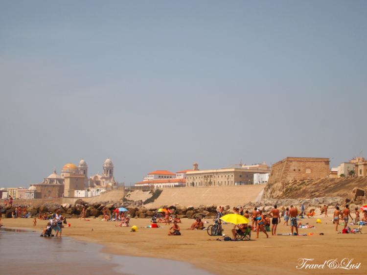 The city has 7220 mts. of wonderful white sand beaches that are shared among the 2,500 m. in Beach Victoria, 3,900 m. in Cortadura beach, 370 m. in beach of Santa Maria del Mar and 450 m. playa de la Caleta.