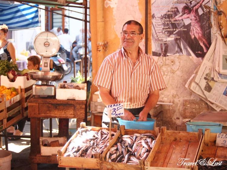 Ballarò street market Palermo