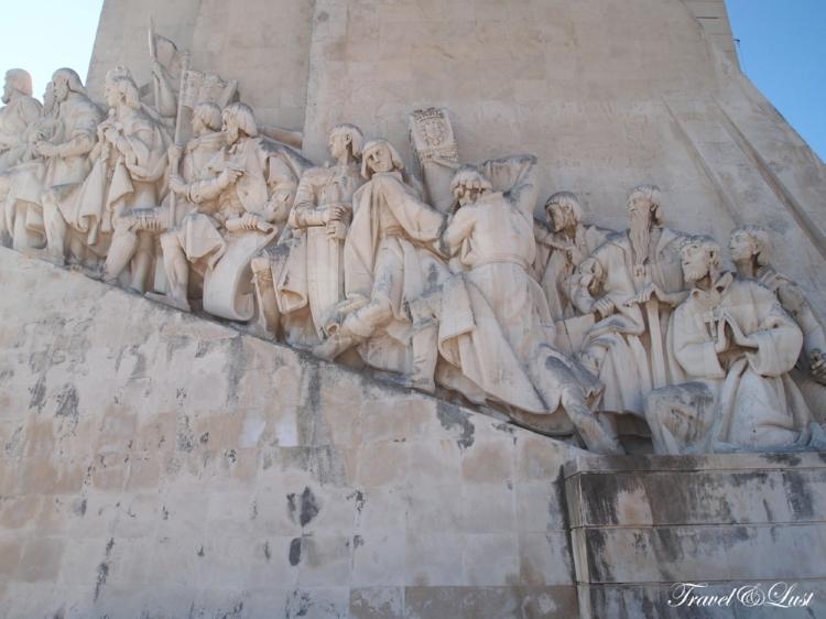 The Padrão dos Descobrimentos (Discoveries monument)celebrates thePortuguese explorers.