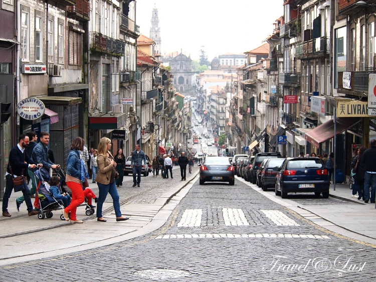 Be sure to put on your walking shoes, Oporto is very much seen when taking a stroll.