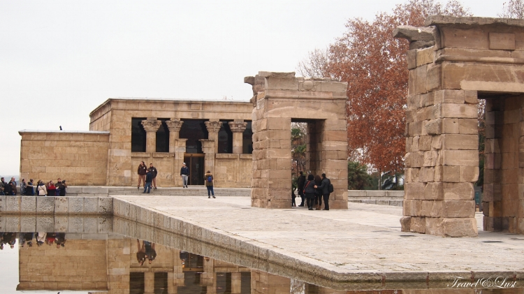 Temple of Debod is worth the wait in line for. How random is it to see an ancient Egyptian temple that was dismantled and rebuilt only to be presented in the city!?