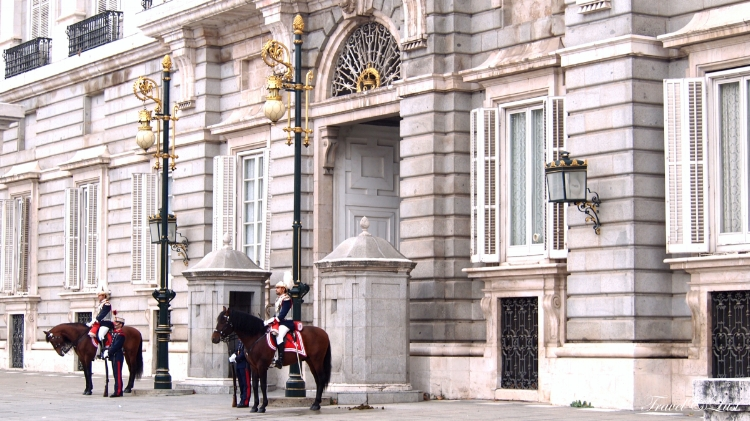 The Royal Palace is the official residence of the Spanish Royal Family. If you are lucky, you can catch the changing of the guards and horses as they used to do back when Alfonso XII was in power, with 100 marching guards and their horses.