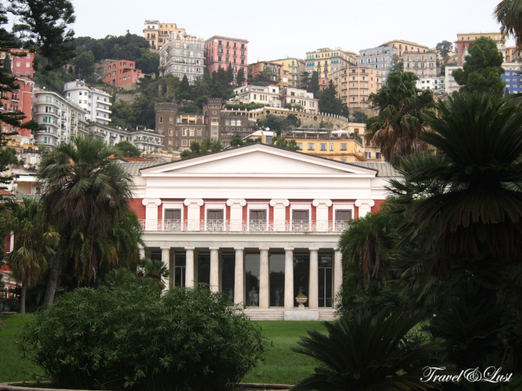 Villa Pignatelli Naples Italy