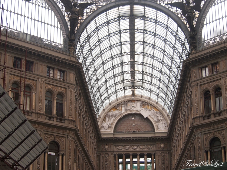 TheGalleria Umberto is a shopping mall.