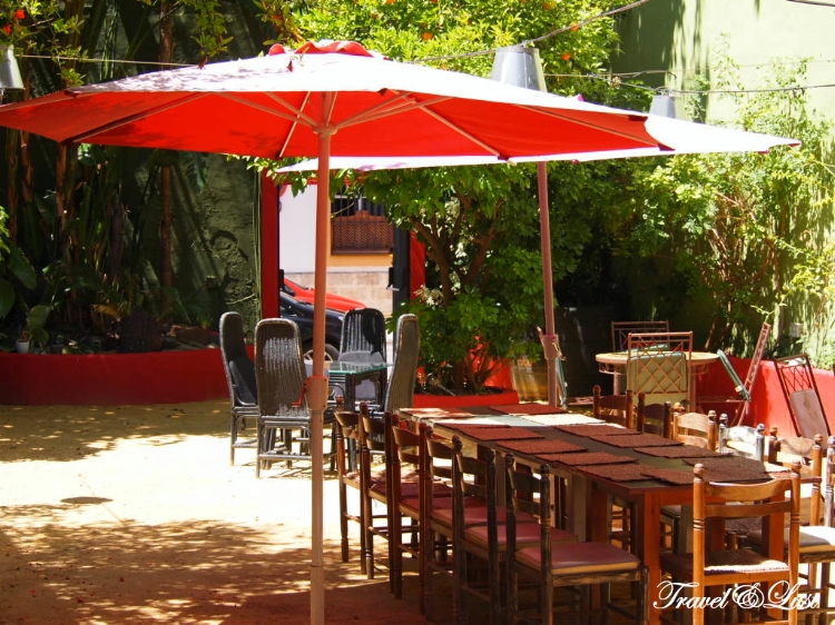 Have lunch or dinner in their amazing patio surrounded by green life.