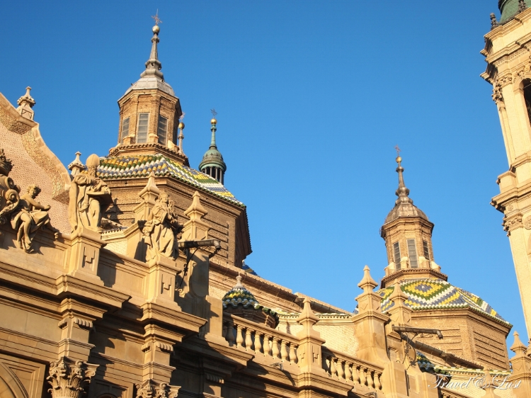 Basilica of our Lady of the Pilar.