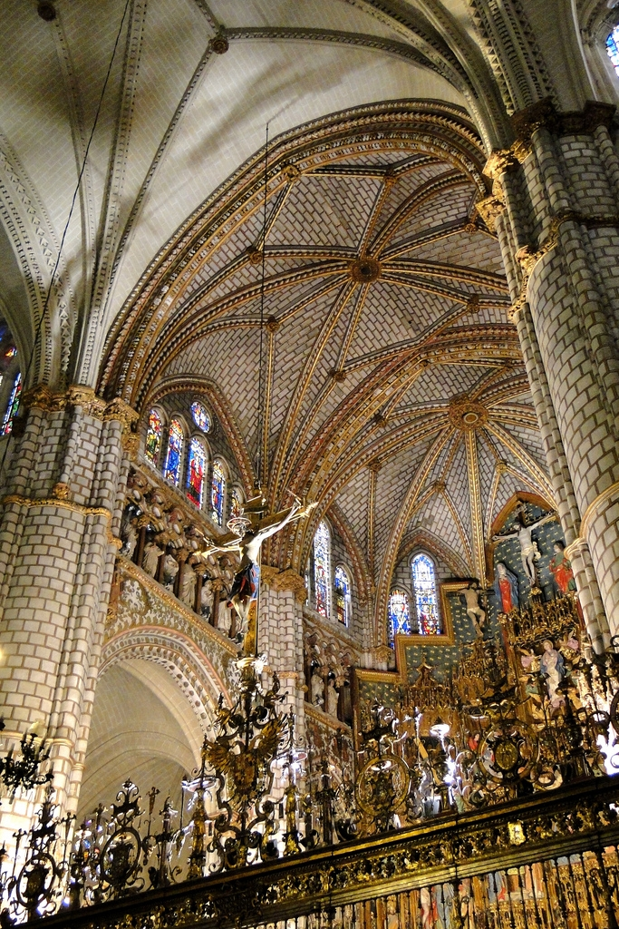 The interior of the Gothic Cathedral.