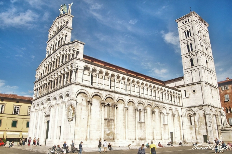 San Michele in Foro, one of Lucca's many beautiful buildings.