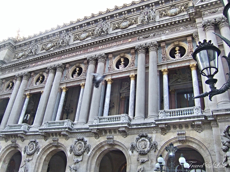 The front of the primary opera house in Paris. Classical ballet as we know it today has arosen from here.