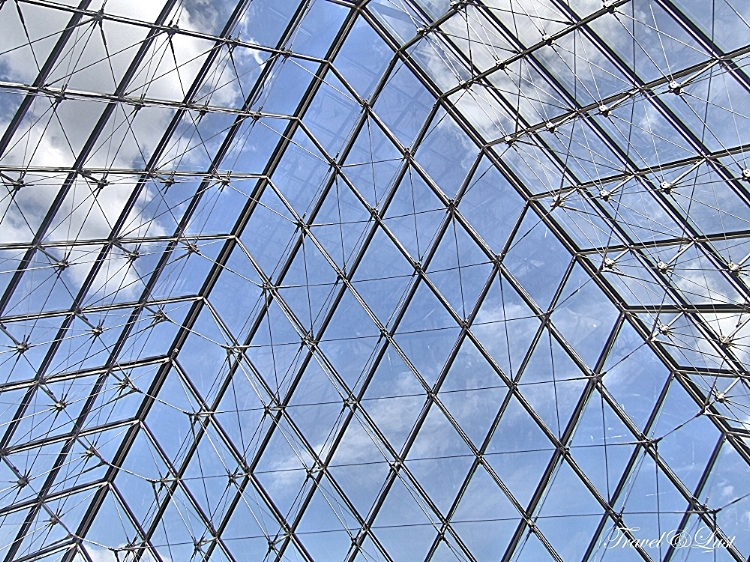 Stained-glass windows of the Louvre.