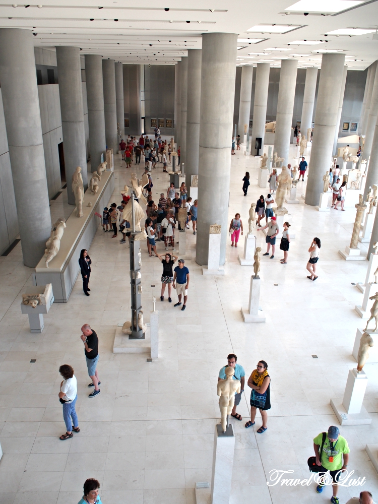 All of the compelling finds discovered in the Acropolis can be seen at the Acropolis Museum. Considered to be on the top 10 of museums to visit in the whole world by many travel mags.