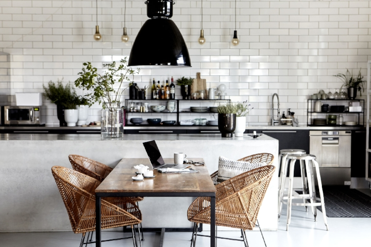 Nordic design and kitchen interiors featuring products by the House Doctor brand.