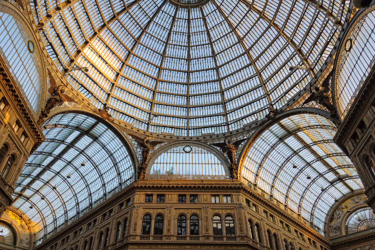 The Galleria Umberto is a shopping mall.