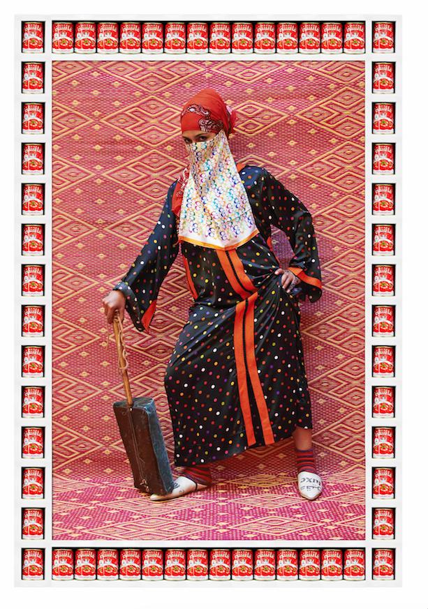 Hassan Hajjaj, Marmouche, 2012, Courtesy the artist.