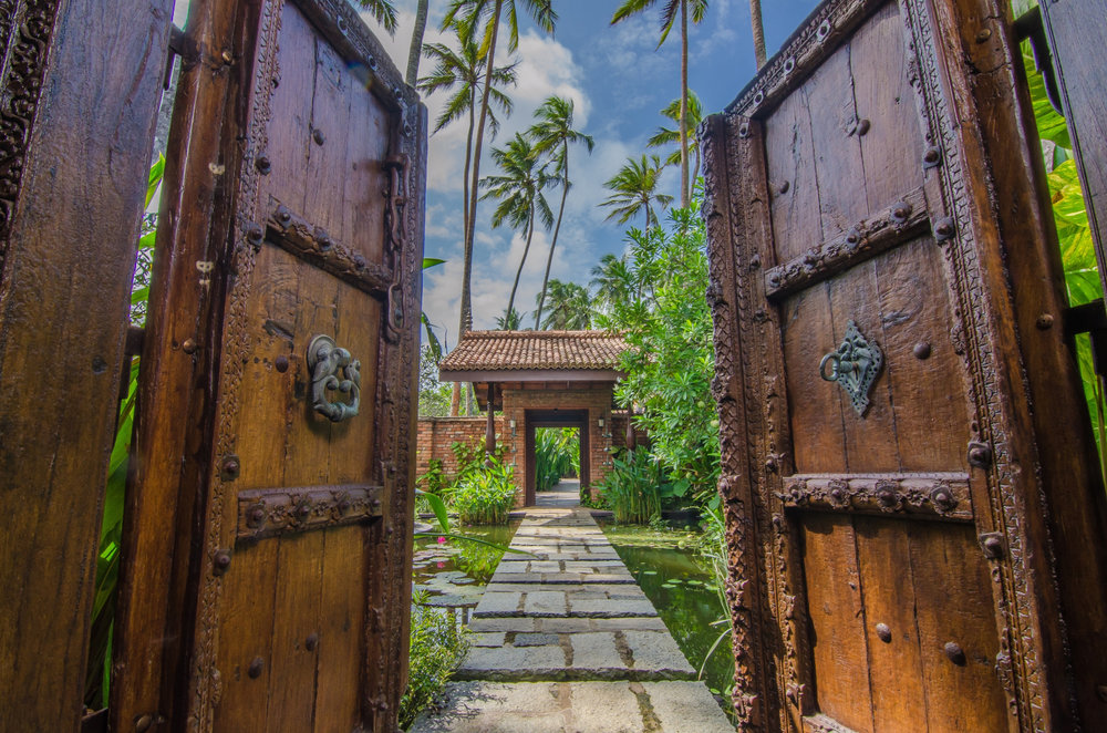 Reef Villa & Spa - Doors to Pond.jpg