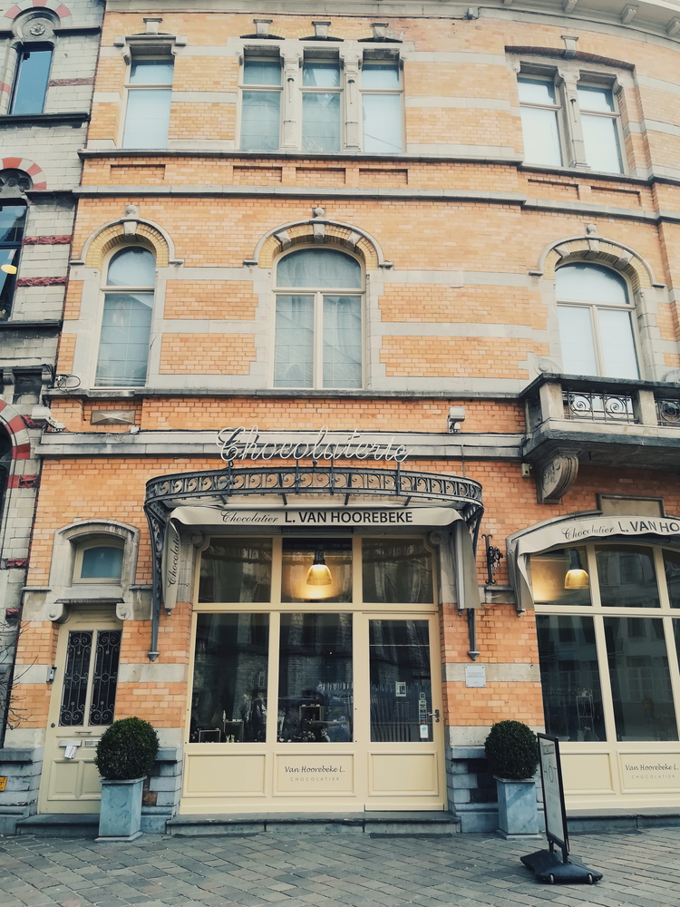 Charming chocolateria located in the city centre.