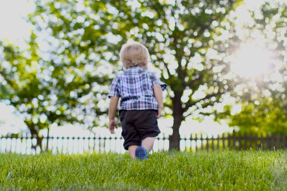 Chase walking