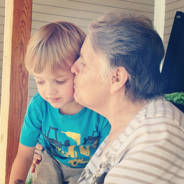 Chase & Nanny, August 2013