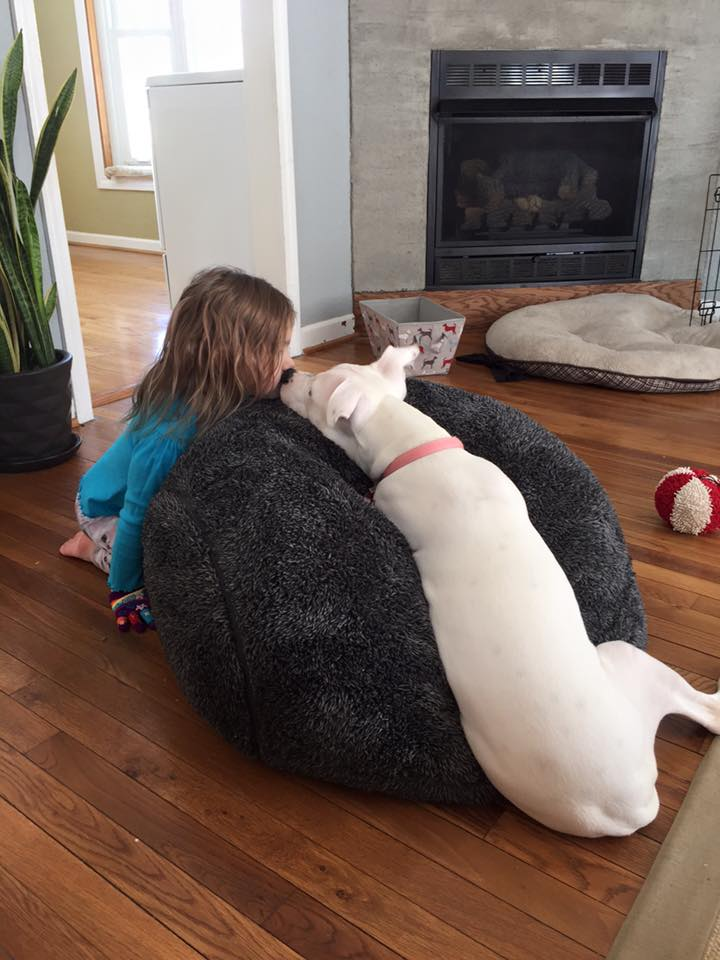 CDT Alumnus Lucy and her favorite little human