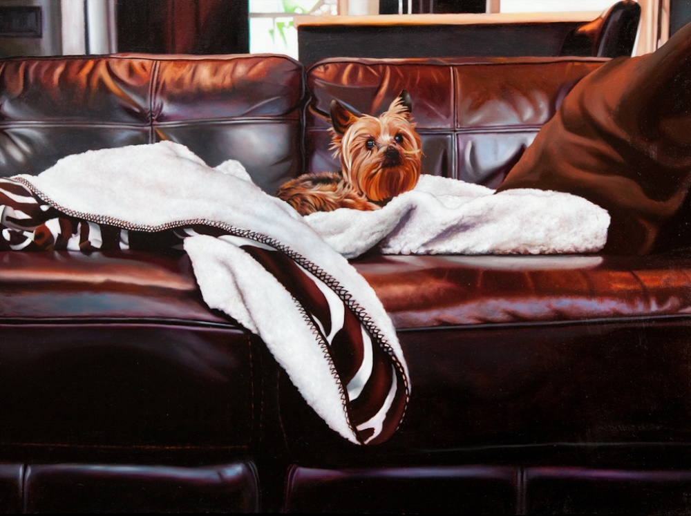 "I'll Always be Home 30"" x 40"" oil on panel SOLD"