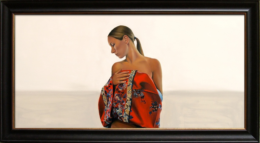 "Heirloom 24"" x 48"" Oil on Linen SOLD"