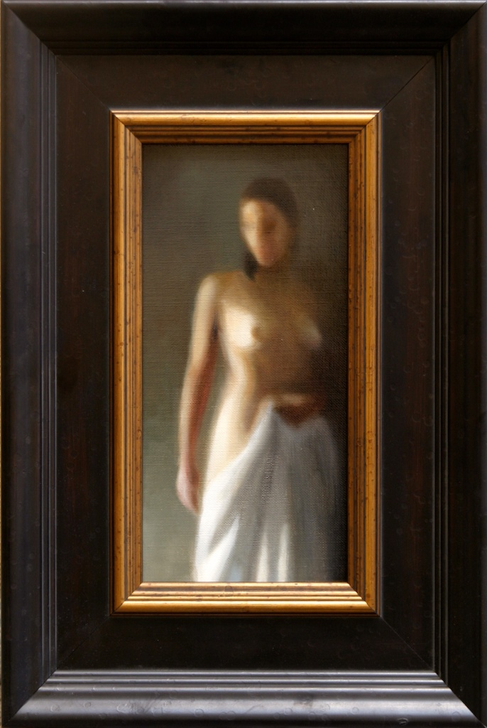 "Blur 6"" x 12"" Oil on Linen SOLD"