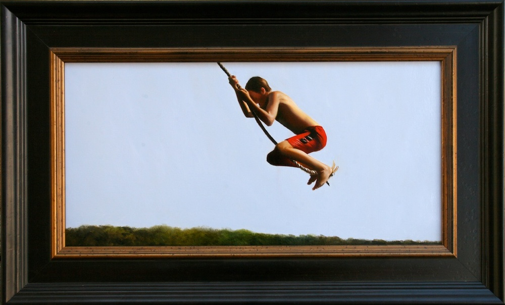 "Let Go 12"" x 24"" Oil on Linen SOLD"