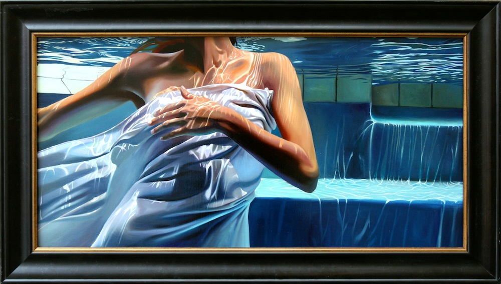 "Beneath The Surface 18"" x 36"" Oil on Linen SOLD"