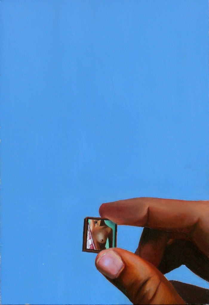 "Itty Bitty 5.5"" x 8"" Oil on Panel SOLD"
