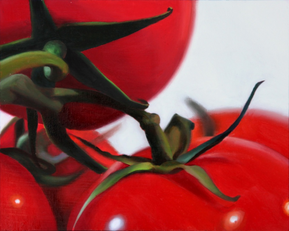 "Ripe 8"" x 10"" oil on panel SOLD"